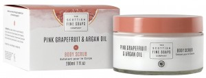 New Pink Grapefruit & Argan Oil body scrub