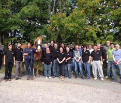 Blakemore Retail volunteers transform Clwyd Special Riding Centre