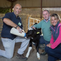 Arla farmer owner hosts Open Farm Day and welcomes public and local MP to show how a dairy works