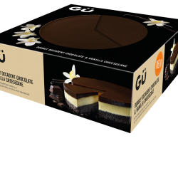 Gü extends its large eats range with four new cheesecakes designed for sharing