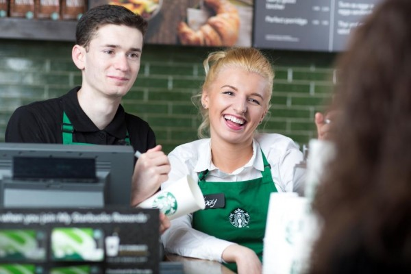 Starbucks: helping younger staff