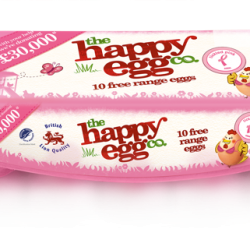 The happy egg co. goes pink to support Breast Cancer Care