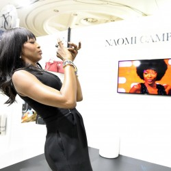 Naomi Campbell makes entrance at TCC Forum to launch eponymous brand for retail loyalty campaigns