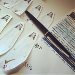 Luxury writing brand Sheaffer inspires London Fashion Week collection