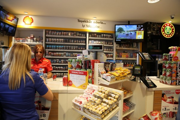 BrightSign players power screens in Shell Forecourts throughout Turkey