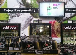 Consumers take the lead from in-store digital marketing campaigns to boost alcohol sales