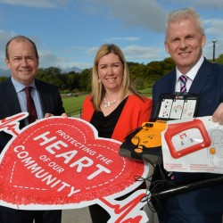 Henderson Group pumps life into NI's largest external defibrillator network