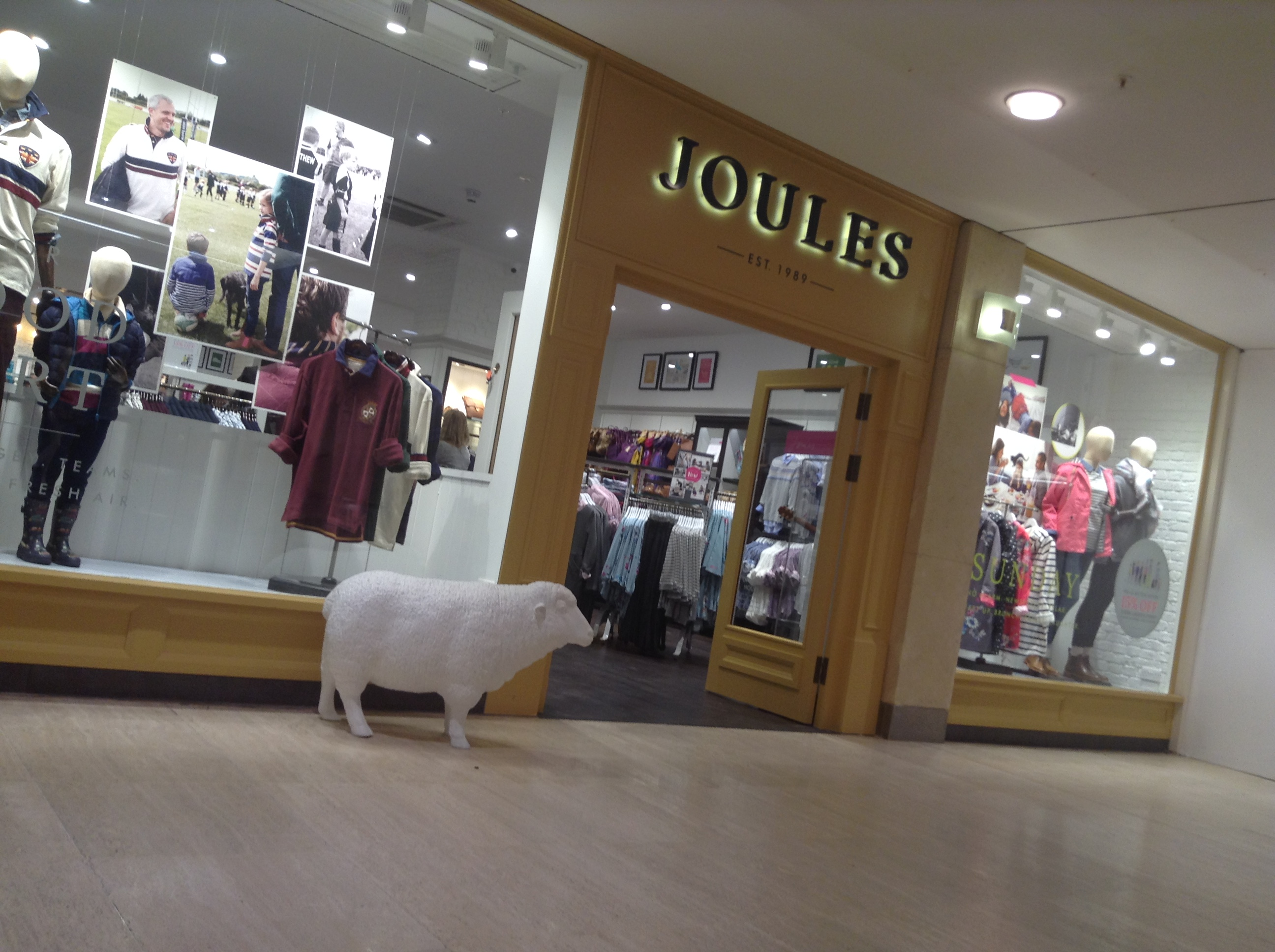 Joules likes to reward customers who follow the store on social media with special discounts and coupon codes. Follow Joules on Facebook, Instagram, Pinterest, and Twitter for your chance to be rewarded. Check out the New In section to shop for items that have just recently been added to the Joules .