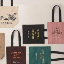 Preston not Heston: Booths launches range of quirky reusable shopping bags