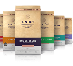 Union Hand-Roasted Coffee rebrands and relaunches premium retail range