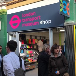London Transport Museum opens first pop up shop with branding by Holmes & Marchant