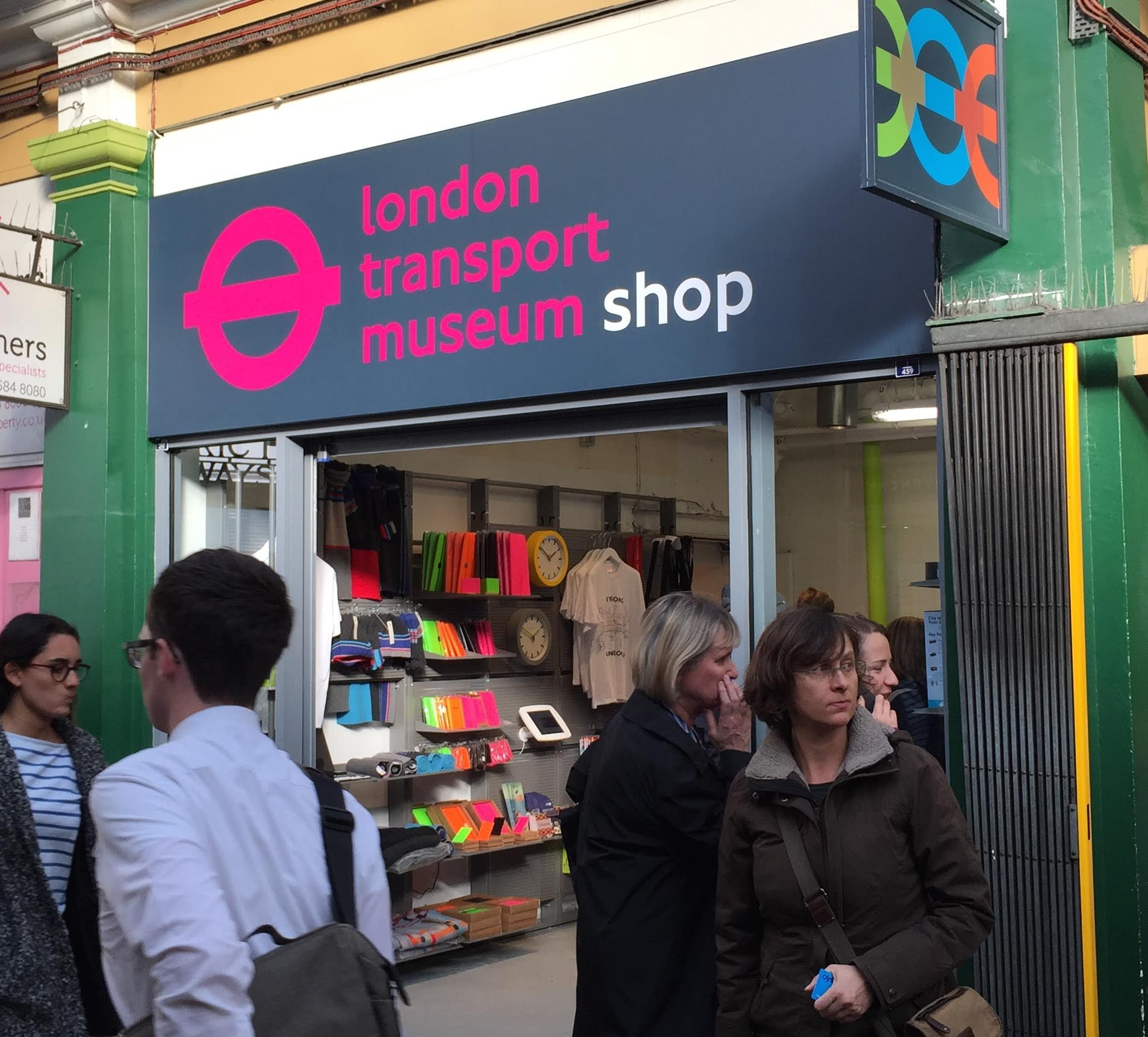 London Transport Museum Opens First Pop Up Shop With