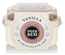 Pots & Co. extends range of puddings with new Vanilla & Chocolate Pot