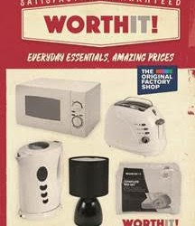 The Original Factory Shop revives Woolworths' WorthIt! brand