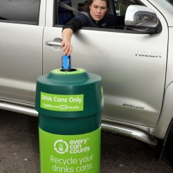 Chartman Group introduces drinks can recycling facilities at award-winning flagship petrol forecourt