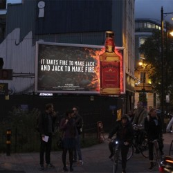 Jack Daniel's partners Kinetic to deliver red-hot Out of Home (OOH) campaign