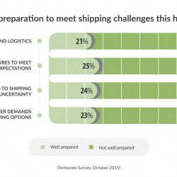 UK retailers are not well prepared for key shipping challenges this Christmas, says Temando survey