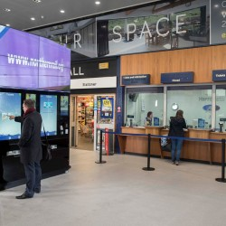 Northern Rail launches retailing 'smart wall', making it quicker and easier for customers to buy their travel
