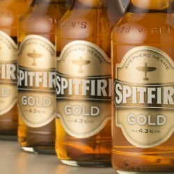 Spitfire Gold,  light golden ale from Shepherd Neame, launches in 500ml bottle