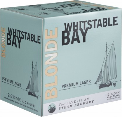 New Whitstable Bay Blonde 12 x 330ml case