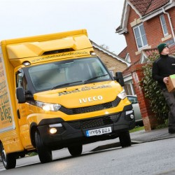 Iveco New Daily fleet delivers for Abel & Cole's organic growth