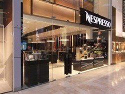 Nespresso launches permanent boutique at Westfield London Shopping Centre