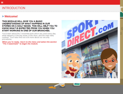 Sports Direct extends online training for new staff with Sponge UK