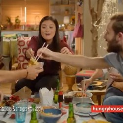 Hungryhouse.co.uk launches second instalment of its Tap & Taste TV campaign