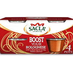 Sacla' bursts into action with the launch of Boost Your Bolognese