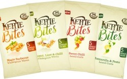 Kettle launches healthier Bites range, limited edition sharing chips and new Chef's Signature flavour