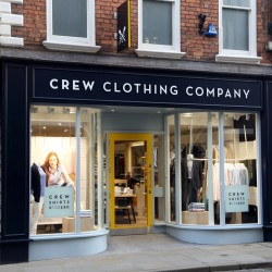 Crew Clothing arrives at Quayside MediaCityUK