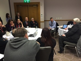Spar retailers attend an operational efficiency workshop at Bromsgrove