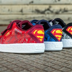 PUMA teams up with Warner Bros. Consumer Products to launch kids Superman collection