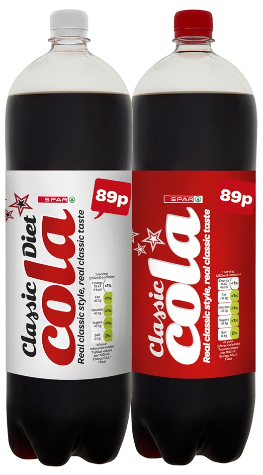 Spar Uk Reduces Sugar Content By 10 In Own Brand Soft