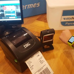 MyHermes trials new in-store printing solution for customer parcels