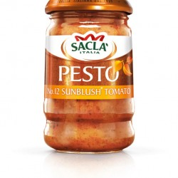 Sacla' extends its Pesto range with launch of SunBlush Tomato Pesto