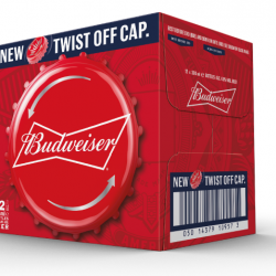 Budweiser to introduce twist-off bottle caps in the UK
