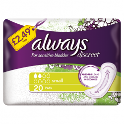 Always Discreet introduces new price marked packs to support convenience retailers