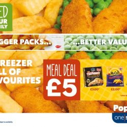 One Stop relaunches frozen range and introduces new £5.00 meal deal