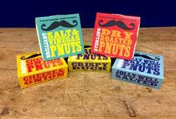 Captain Tiptoes 'P Nuts' snack innovation challenges traditional crisps