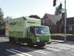 Netting grocers: Amazon and Uber feed groceries market revolution