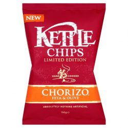 KETTLE Chips introduces Chorizo, Feta & Olive limited edition crisps