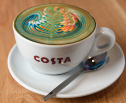 Costa brings Rainbow Flat White Coffees to the UK for Pride