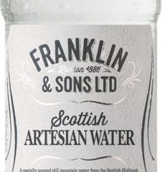 Franklin & Sons extends range of mixers with Scottish Artesian Water and Scottish Soda Water