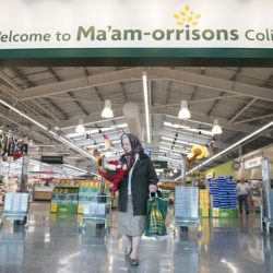 Morrisons changes name to Ma'am-orrisons in honour of the Queen's 90th birthday celebrations