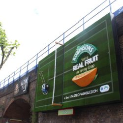 Britvic and Kinetic serve up innovative Robinson's campaign at Waterloo station