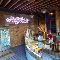 Artisan ice-cream maker, Ruby Violet, opens second site in Granary Square at King's Cross