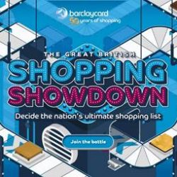 Barclaycard launches 'Great British Shopping Showdown' to reveal the nation's ultimate shopping list