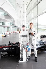 Majestic Wine supoprts global partnership between Chandon Argentinian wine and McLaren Honda Formula 1 Team