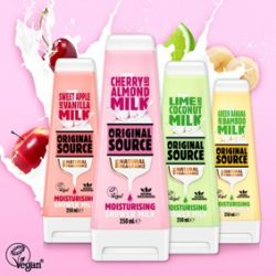 Original Source to launch range of moisturising Shower Milks with Hark Creative